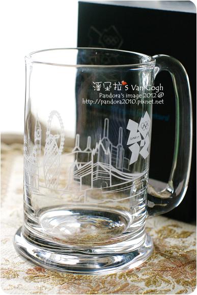 2012.05.04-倫敦天際剪影水晶啤酒杯 (London 2012 skyline crystal tankard)