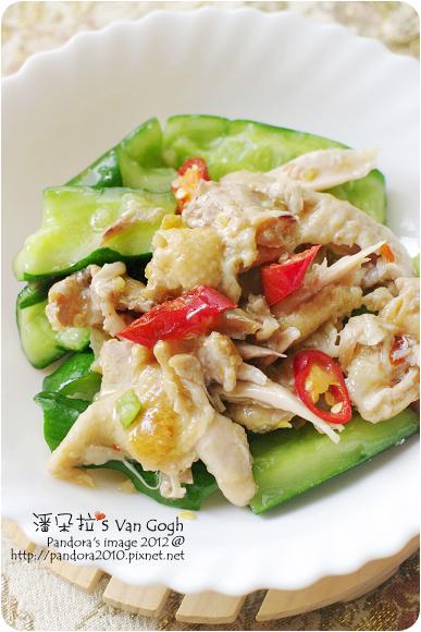 2012.06.01-涼拌黃瓜香雞絲