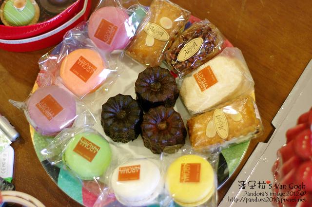 (亞蘿蔓 洋果子)瑪卡紅&可麗露&小餅乾