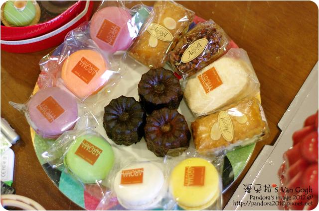 2012.06.02-(亞蘿蔓洋果子)瑪卡紅&可麗露&餅乾