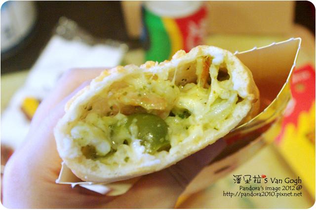 2012.06.11-(PizzaHut)黃金起斯哈燒捲-羅勒青醬海鮮