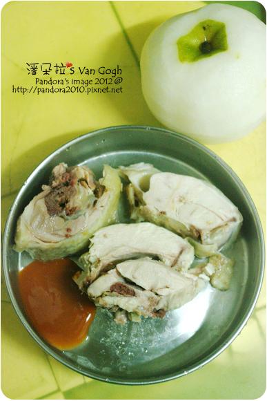 2012.06.20-白斬雞、水梨