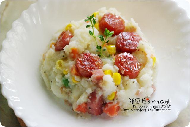 2012.06.27-香腸馬鈴薯泥