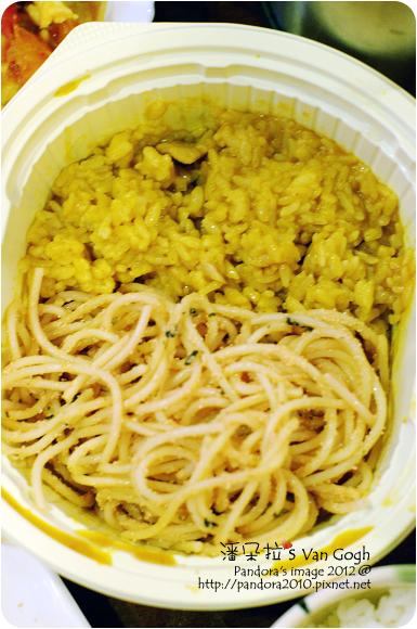 2012.07.13-明太子起司義大利麵、咖哩飯