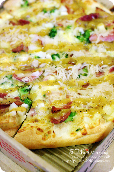 2012.07.15-(PizzaHut)德國煙燻豬腳 輕Q餅皮pizza-