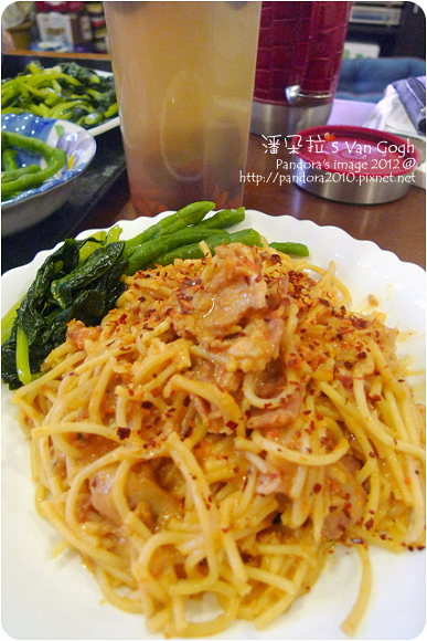 2012.07.23-(pasta99)奶油培根肉醬義大利麵