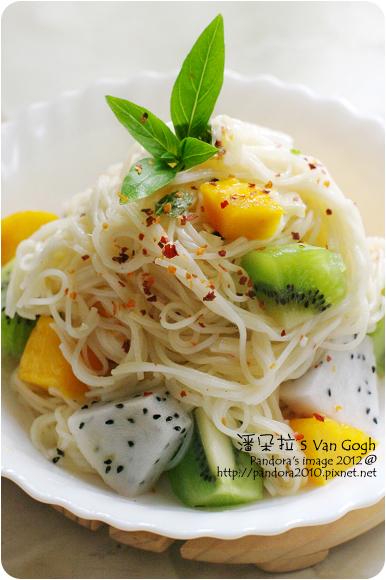 2012.07.27-水果涼麵