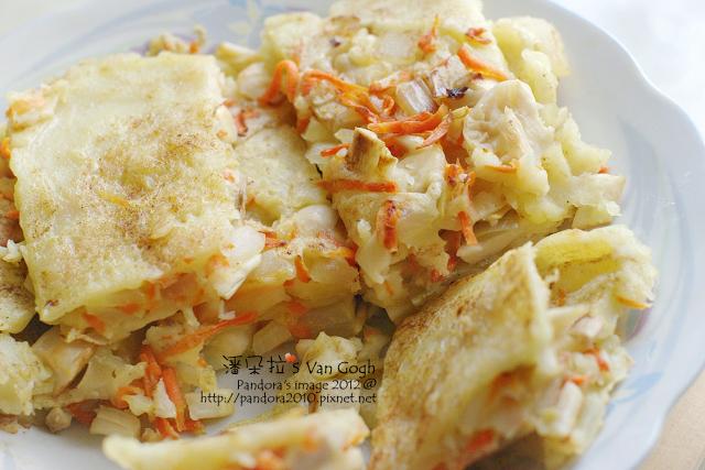 胡蘿蔔菇菇煎餅