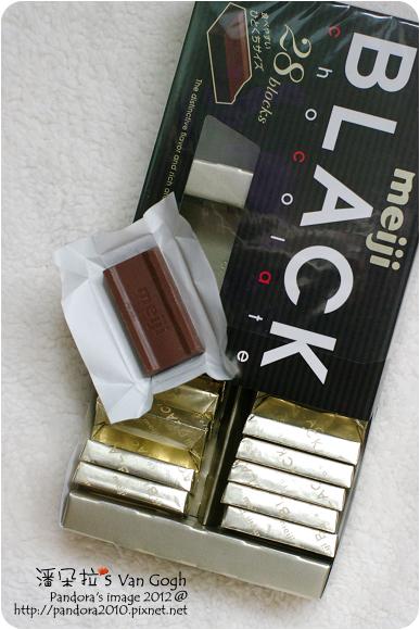 2012.08.08-(Meiji)明治黑巧克力