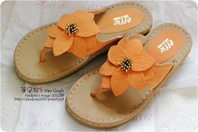 2012.08.08-Ivy太太送的阿瘦涼拖鞋