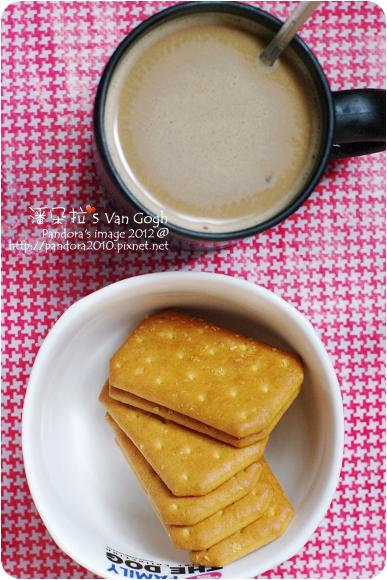 2012.08.12-(舊街場)白咖啡-二合一、孔雀蜂蜜燕麥餅乾