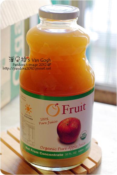 2012.08.13-(歐芙)有機純蘋果汁