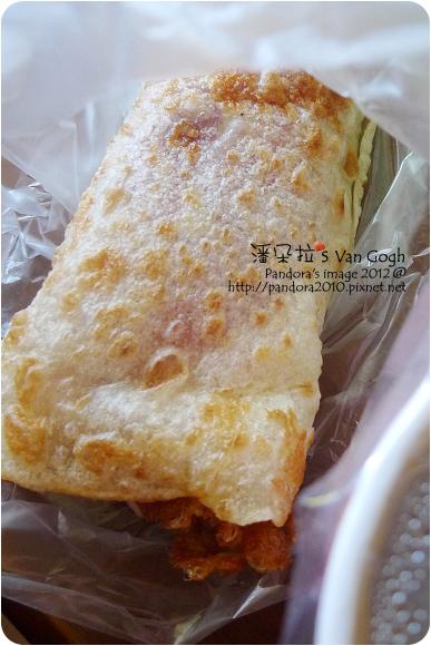 2012.08.26-(永和豆漿)培根豆芽菜蛋餅、米漿