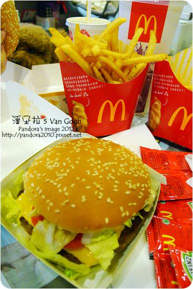 2012.09.02- (麥當勞)四盎司牛肉堡餐