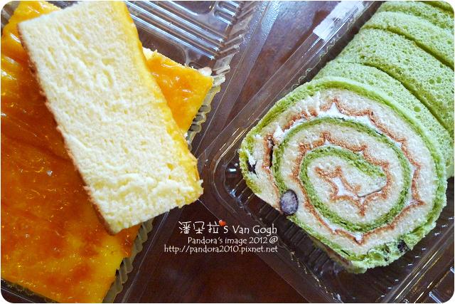 2012.09.07-(佳湘)瓦那蛋糕、抹茶紅豆捲