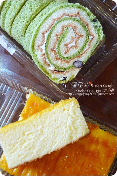 2012.09.07-(佳湘)抹茶紅豆捲、瓦那蛋糕