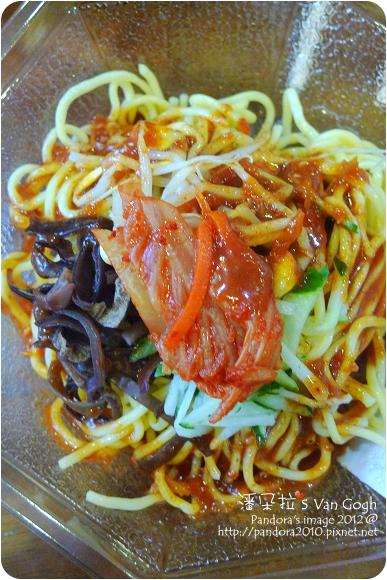 2012.09.13-(全家)韓式泡菜涼麵