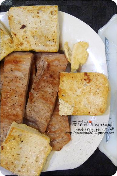 2012.09.28-煎豆腐、(台糖)松阪豬