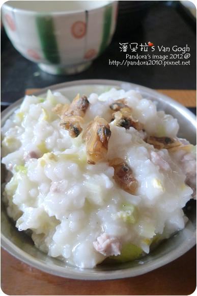 2012.10.18-瘦肉稀飯+蜆仔乾