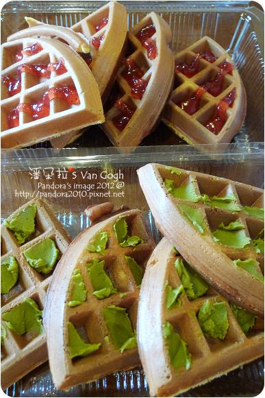 2012.10.18-幸福鬆餅-草莓&抹茶