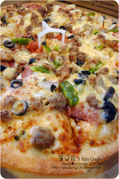 2012.10.21-(PizzaHut)總匯pizza
