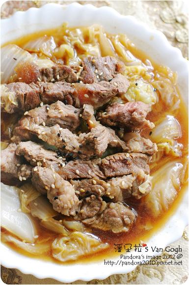 2012.10.30-醬燒白菜牛肉-