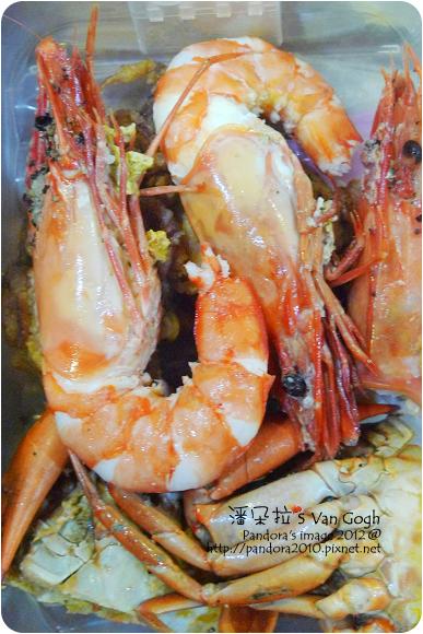 2012.10.30-大明蝦、螃蟹