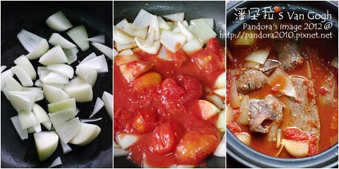 香草茄汁燉牛肉。作法