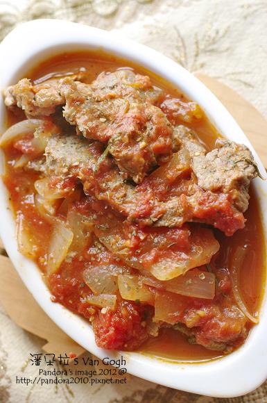 香草茄汁燉牛肉