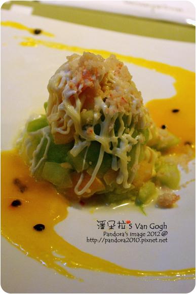 2012.11.09-(陶板屋)海鮮水果沙拉