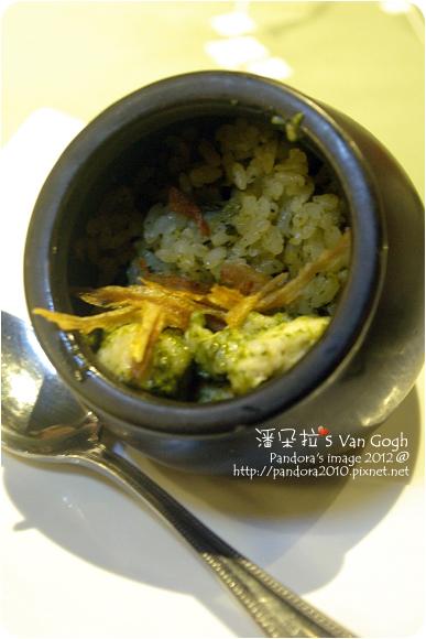 2012.11.09-(陶板屋)青醬雞肉蒸飯