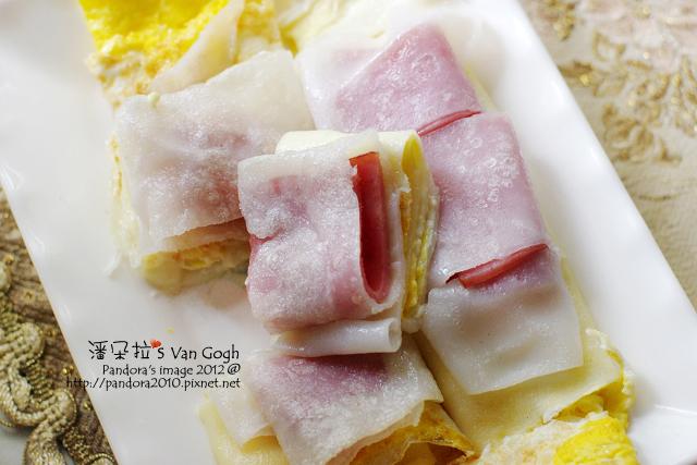 火腿起司粄條蛋餅