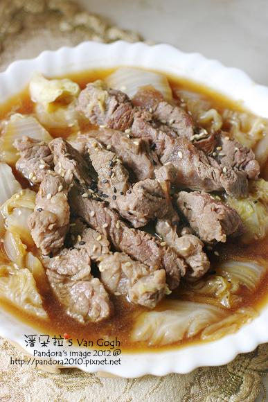 醬燒白菜牛肉