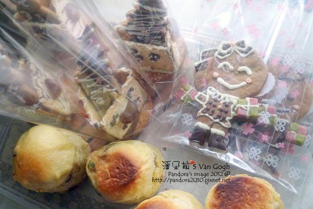 餅乾屋、聖誕水果麵包、薑餅人