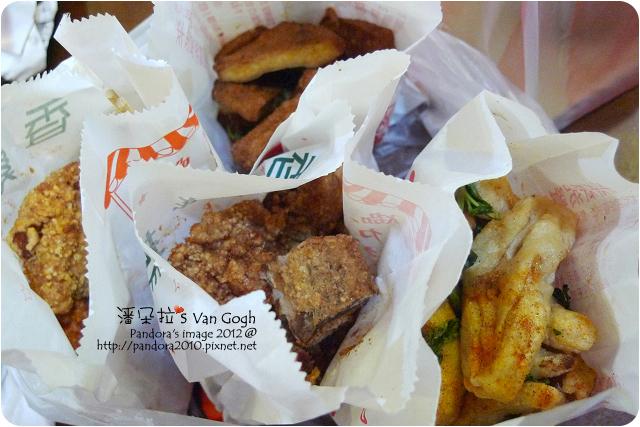 2012.12.21-香雞排、炸豆乾、炸甜不辣