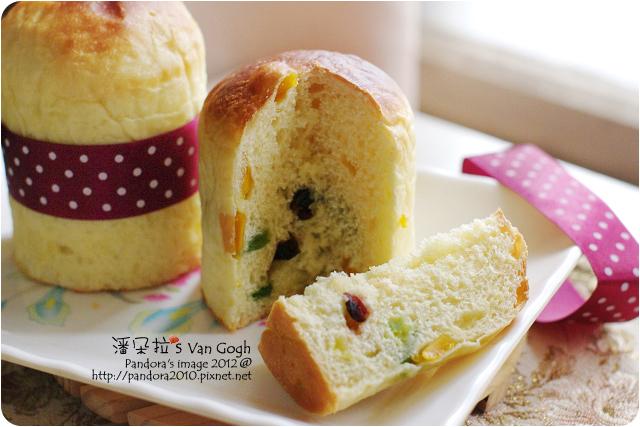 2012.12.19-聖誕水果麵包