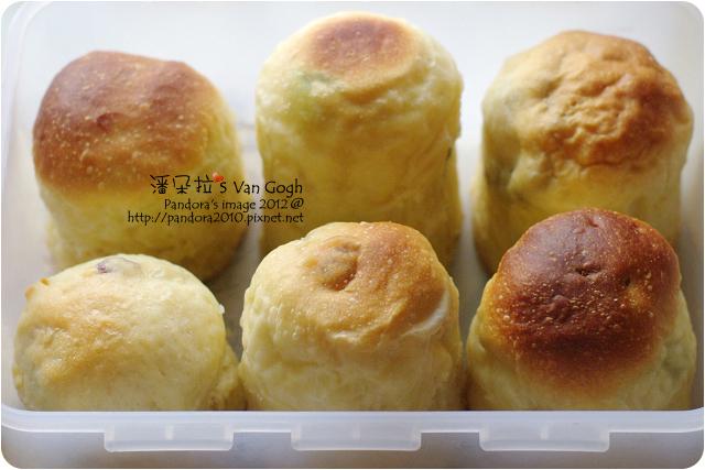 2012.12.22-聖誕水果麵包