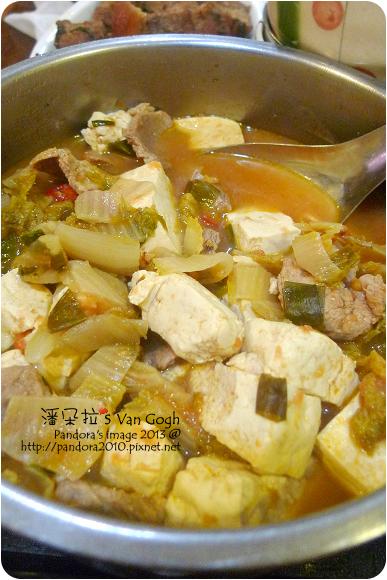 2013.01.02-泡菜豆腐湯