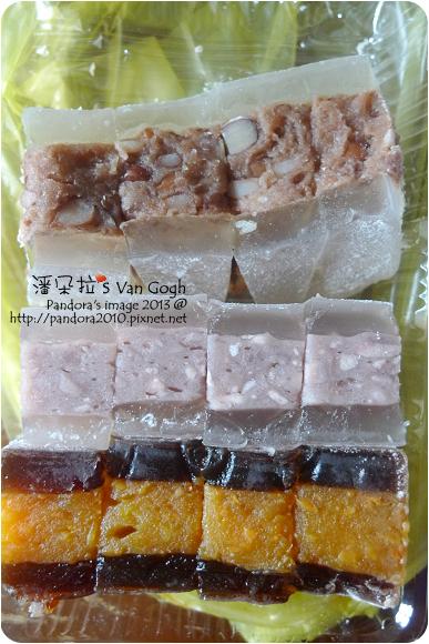 2013.01.11-南瓜&芋頭&花豆水晶涼糕