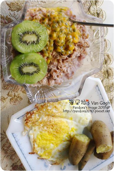 2013.01.14-地瓜、荷包蛋、麥果泥