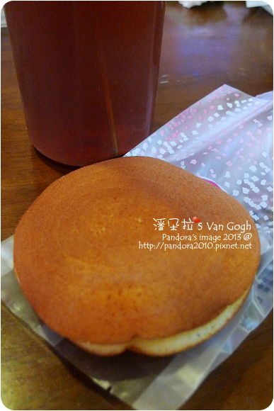 2013.01.14-星野銅鑼燒-蘋果、(雀巢)檸檬茶