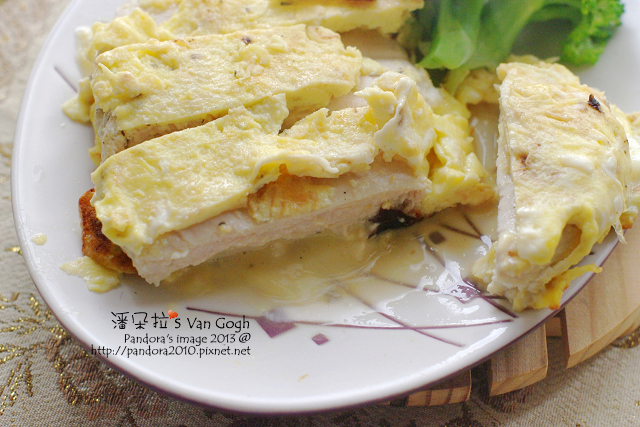 蛋包起司雞排