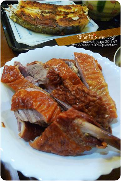 2013.01.24-(田記)烤鴨、乾煎土魠魚