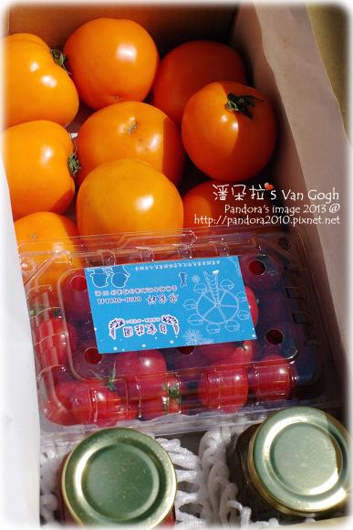 自家莊園。黃金蕃茄、甜心蕃茄、手工草莓果醬、瓜果蜂蜜