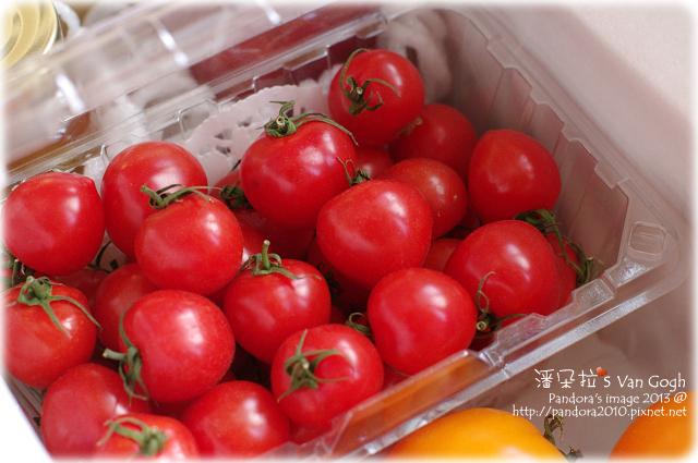 自家莊園。甜心蕃茄