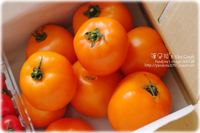 自家莊園。黃金蕃茄