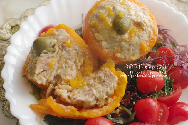黃金番茄鑲肉