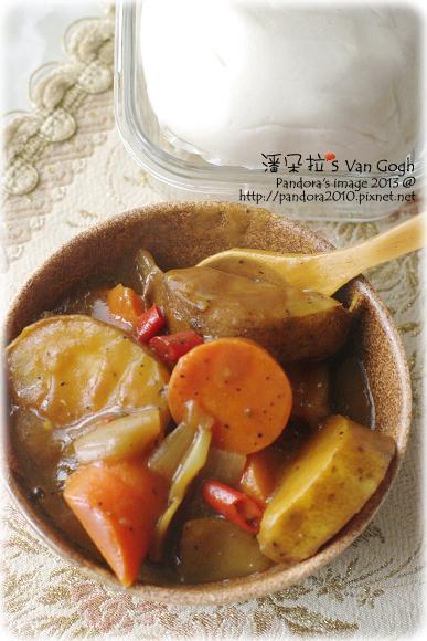 2013.02.11-辣味咖哩、山東饅頭