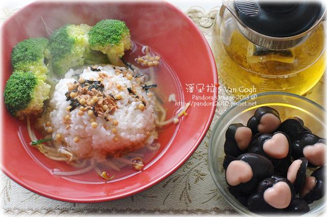 2013.02.14-茶泡飯、心心相印巧克力