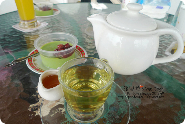 2013.03.06-(茄米酪)枸杞菊花茶+蜂蜜、紅豆抹茶奶酪